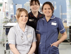 Staff nurses for WP