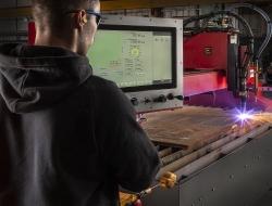 control screen of Plasma cutting machine