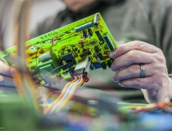 Industrial Photography of circuit board