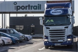 Lorry-at-i-port