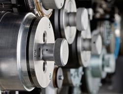 Machine workings detail-Industrial photo