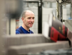 Worker at Molins plc in Holland by-Industrial photographer Birmingham ross vincent