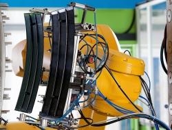 Robotic arm detail- Industrial photos