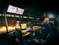 Control room looking overproduction at Liberty Steel