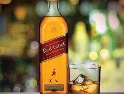 Jonny Walker whiskey and glass