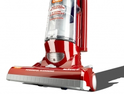 Photograph of a Vax upright vacuum- Industrial product photography