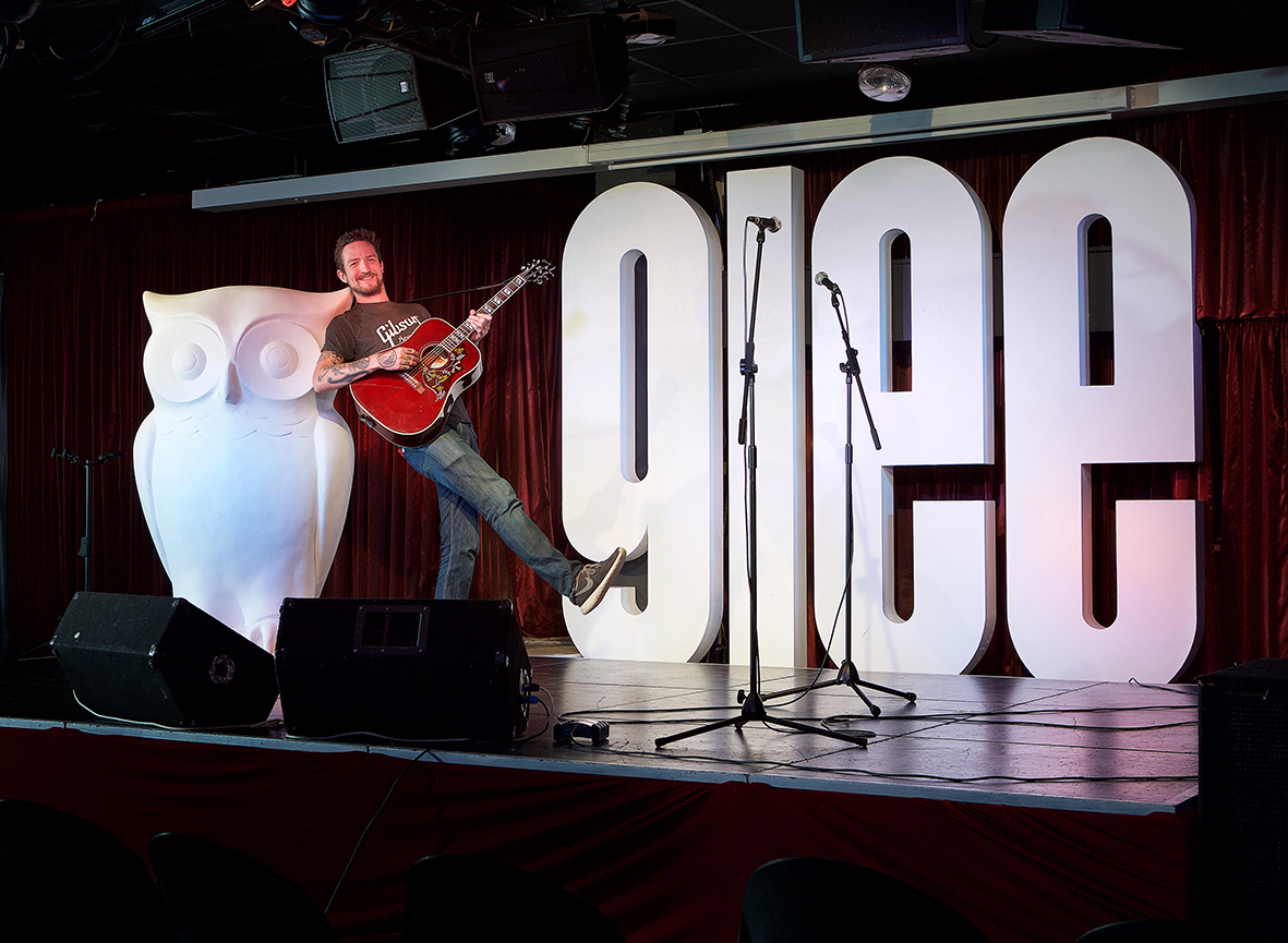 Frank Turner at Glee club Birmingham