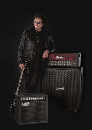 Tony Lommi for Laney Music by ross vincent