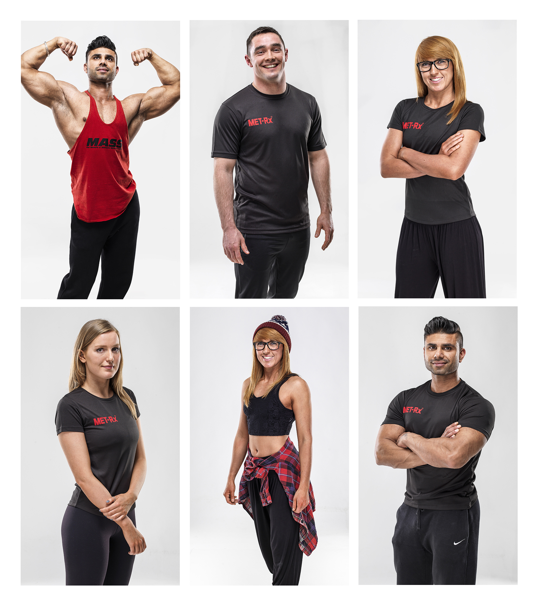 Fitness and sport image for Met Rx studio photography by Ross vincent