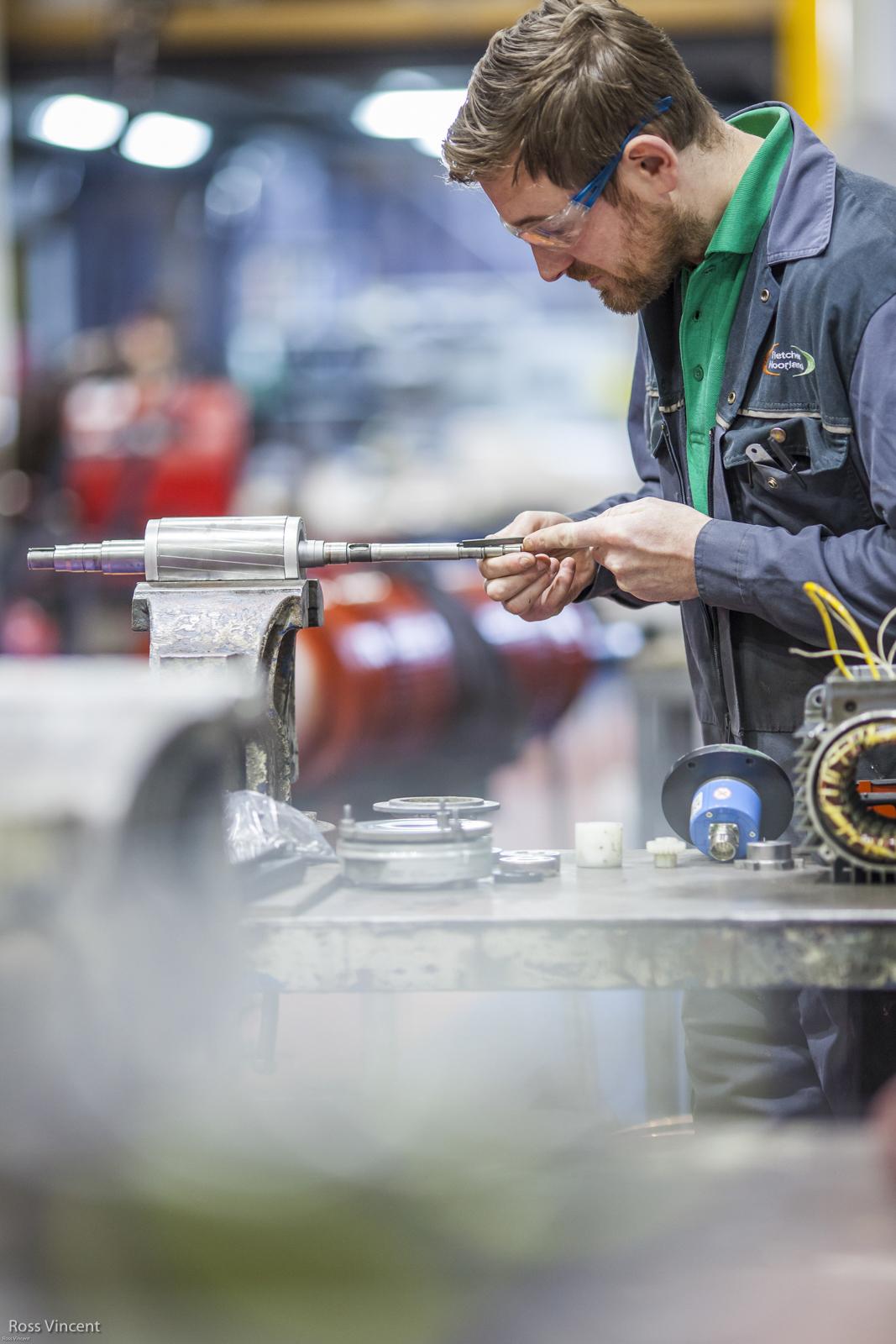 electrical motor repair for Fletcher Moorland of stoke on Trent