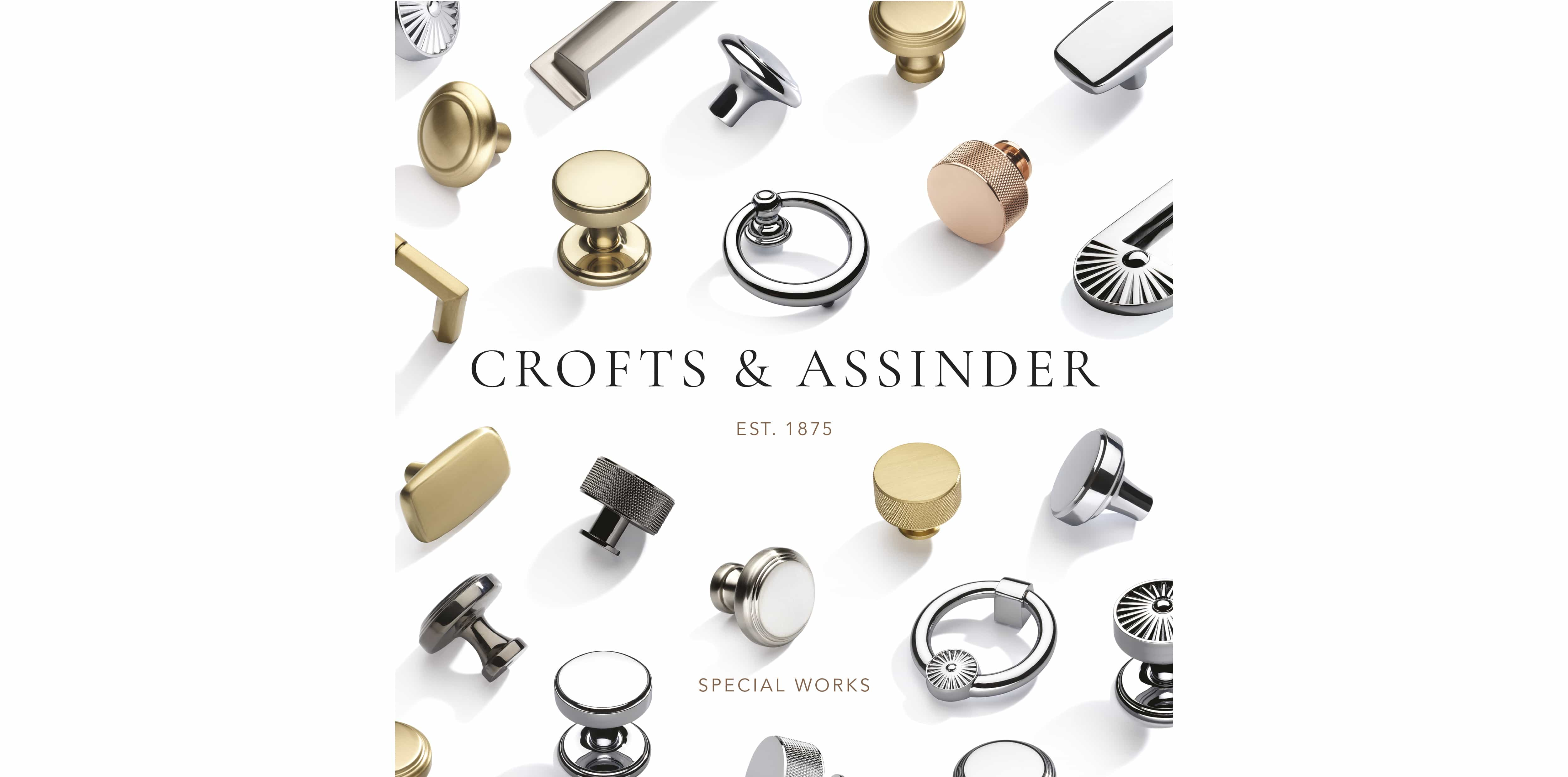 Crofts&Assinder product brochure of door furniture