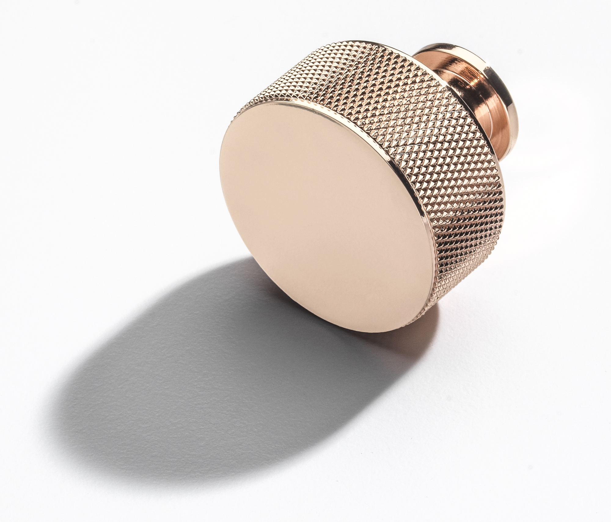 Rose gold beautiful cabinet handle for Croft and Assinder