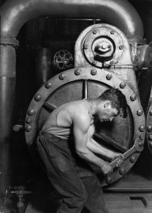 Steamfitter by Lewis Hine 1920